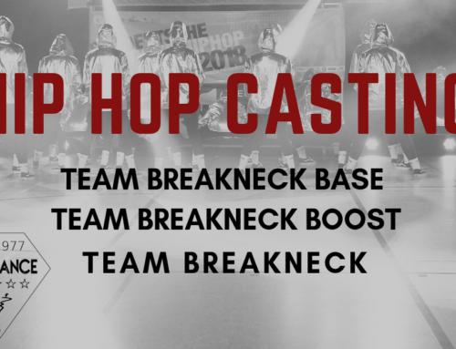 Casting für unsere Hip Hop Formationen